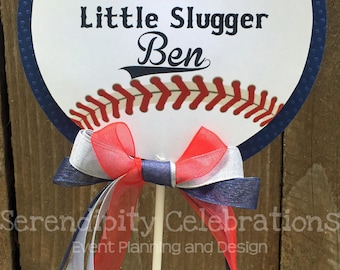 Centerpiece, Vintage Baseball Personalized Centerpiece, Birthday, Baby Shower, Photo Prop, Table Centerpiece, Baseball Centerpiece, Sports