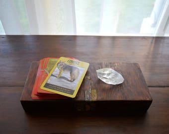 Antique Box - Cigars, Mancave, Farmhouse, Rustic, Eclectic, Tarot, Simple Life