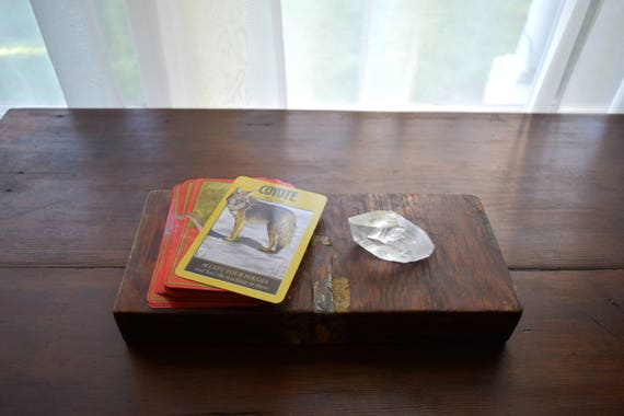 Antique Box - Cigars, Mancave, Farmhouse, Rustic, Eclectic, Tarot, Simple Life