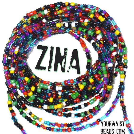 Custom fit Waist Beads ~ Zina ~ YourWaistBeads.com
