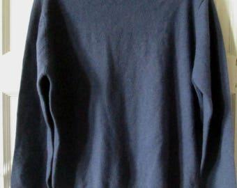 Cashmere  Turtleneck Sweater, L