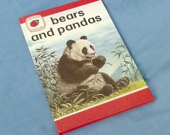 Bears and Pandas - Vintage Ladybird Book Series 737 - Ladybird Leaders - Glossy Covers