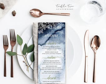 Menu Cards - A Whistler Evening (Style 13760)