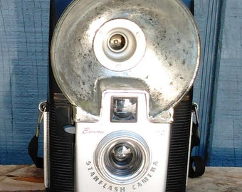 Vintage Camera - Vintage Brownie Camera - Kodak Camera - Starflash Kodak Brownie Camera - Vintage Photography