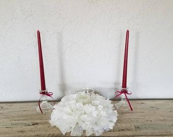 Unity Candle, Unity Candle Set, Unity Ceremony, Unity Candle Holder, Unity Wedding Candles, Wedding Unity Candle Set, Wedding Candle Holders