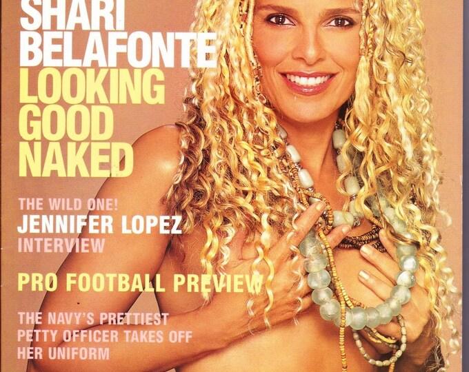 Playboy Magazine September 2000 with Shari Belafonte of Beyond Reality & Hotel, Singer And Actor Jennifer Lopez, Seth Green, of Buffy TVS