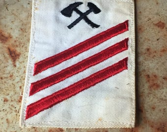 Vintage Navy Seaman Patch, Damage Controlman