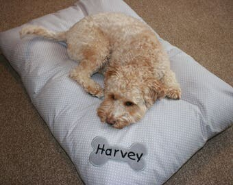 Personalised Dog Duvet Bed