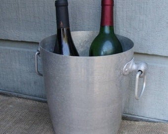 Vintage French Champagne Ice Bucket Champagne Wine Bar Cooler