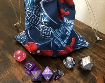 Spider-Man Dice Bag, Dungeons and Dragons, D&D, DnD