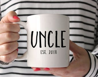 Uncle gift, Uncle mug, Gift for Uncle, New Uncle, Brother Gift, Mug, pregnancy reveal, custom uncle mug, Personalized Mug