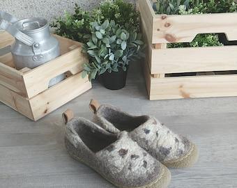 READY to SHIP Anti slippery flat bottom shoes with wild design - minimalist shoes us womens size 9/ eu size 40