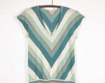 80s Chevron Sweater Tee