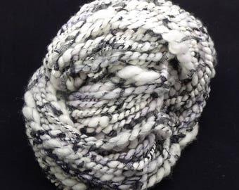 Handspun Bulky Art Yarn- Cruella's Intrigue