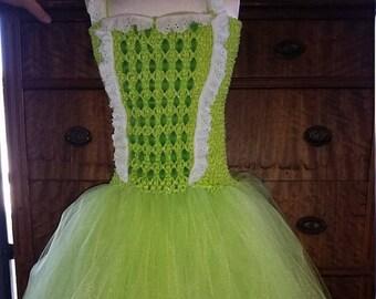 Princess Amber Costume Flower Girl Tutu Dress