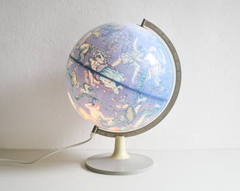 Astronomy globe, constellations globe, constellations map, star map, sky map, star globe, astrology gift, astronomy gift, Ref: 996