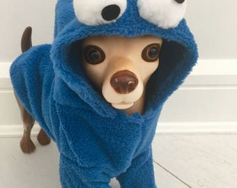 Cookie Monster costume by FiercePetFashion
