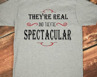 Real and Spectacular, Seinfeld T Shirt, Ladies Shirt, Unisex T Shirt, They're Real and They're Spectacular Shirt, Gift