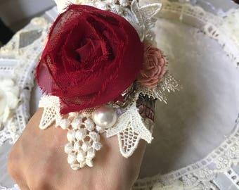 Victorian Lace Cuff Bracelet