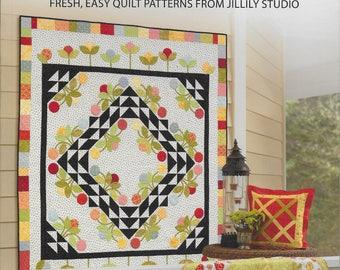 Home Sweet Quilt by Jill Finley Quilt Pattern Book