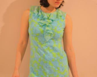 60's Mod Dolly Psychedelic Mini Dress