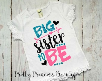 Im Going To Be A Big Sister, Big Sister Shirt, Big Sister To Be, Announcement Shirt, I'm Going To Be A, Big Sister, Big Sister Tshirt