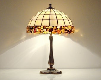 Bedside Table Lamps. Bedside Lamps. Table Lamps. Stained Glass Lamps.  Tiffany Table