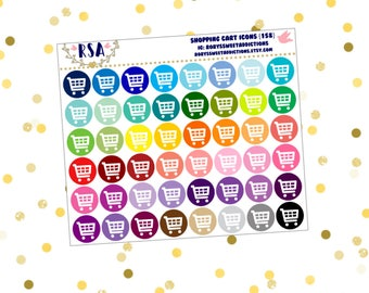 Shopping Cart Icons  {158}