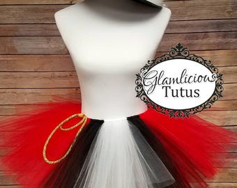 Ringmaster Tutu | Ringmaster costume | Ringmaster birthday outfit| Halloween Costume| Newborn- adult listing