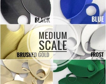 MEDIUM Scale - Anodized Aluminum