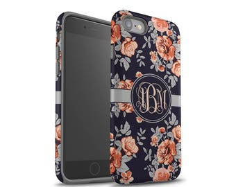 iPhone 6 Case, iPhone 8 Case, iPhone 7 Case, iPhone 7 Plus Case, Galaxy S8 Case, Galaxy S7 Case, iPhone X Case, Floral Pattern Case