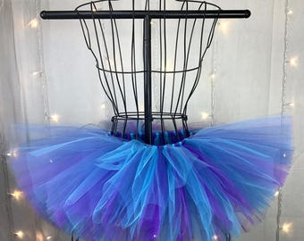 Sage Tutu - Blue and Purple Tutu - Available in Infant, Toddlers, Girls, Teenager, Adult and Plus Sizes