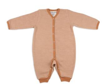 Merino wool pajama - Rompers - Baby rompers - Merino wool rompers - Toddler rompers