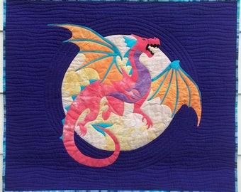 Dastardly Dragon PDF Appliqué Pattern