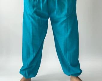 CH0105 Men's Yoga Massage Pants, Thai Yoga Pants with elastic waist for easy adjustable fit