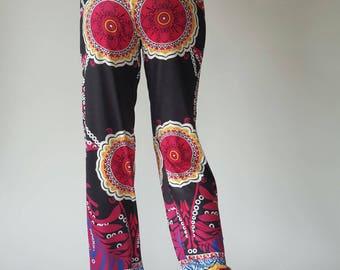 YG0199 Jogging Pants Comfortable Causal Trousers Striped Print Pants