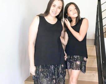 BUNDLE Ladies Two Tone Tunic + Abby's Road Trip Tunic PDF sewing patterns