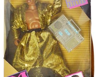 Vintage 90s MC Hammer & Boom Box NIB Doll Action Figure