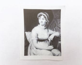 Jane Austen Sew On Patch - Pride and Prejudice Author Patch For Book Lovers - It is a truth universally acknowledged...