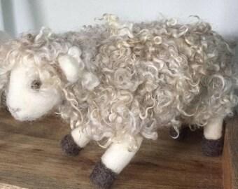 Extra Soft Needle Felted Sheep