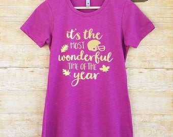 Game day shirt, womens football shirt, womens fall tee, fall t-shirt for women, womens fall shirt, brunch shirt, football mom shirt, fall