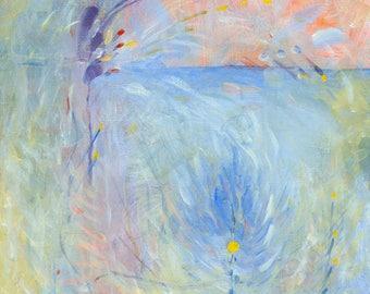 Joy!  An original Acrylic Painting, Abstract by Brenda Foreman