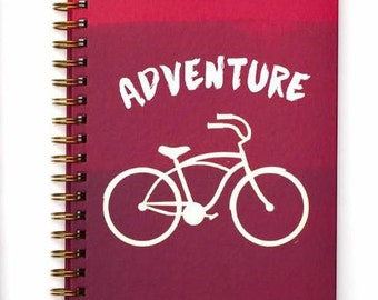 American Crafts Lined Spiral Journal - Adventure