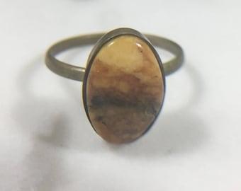 Vintage Baltic Amber Ring