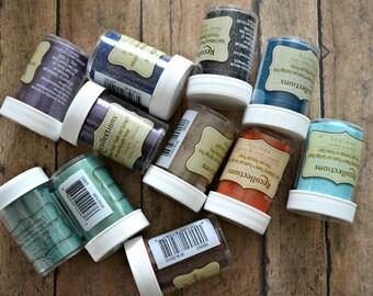 Embossing Kit, Embossing Powder, Embossing Destash,  Ranger Embossing, Emboss Pigment, Scrapbook Kit, Cardmaking Kit, Papercraft Kit, Emboss