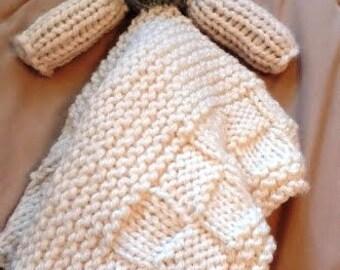 Crocheted Lamb Lovey