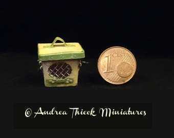 Miniature Container with Window - 1-12 scale OOAK