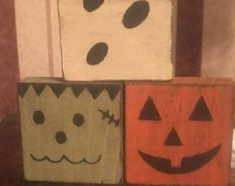 Halloween Block Trio