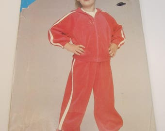 See & Sew 5340 Child's Jacket and Pants Sizes 2 - 4 Uncut