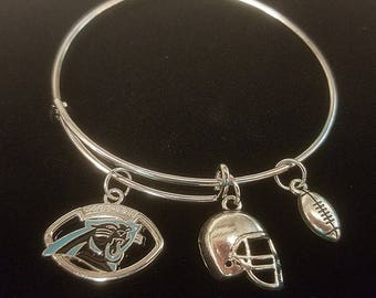 Carolina Panthers Bangle